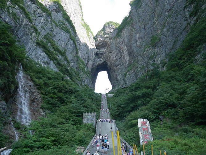 แหล่งท่องเที่ยวธรรมชาติในจีนมีที่ใดบ้าง